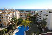 Golden mile, penthouse with open sea views and in walking distance to beach and town