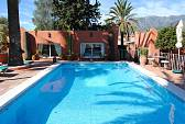 Andlausian charm  hotel with fabulous garden with pool and sun terrace