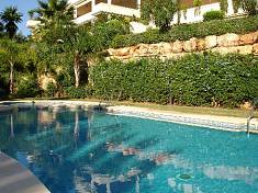Las Lomas de Marbella Club. Beautiful Penthouse with south facing  terrace. Excellent sea views overlooking green areas and villa
