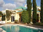 Villa 300 m from beach  with  large beautiful mature garden and a heated swimming pool