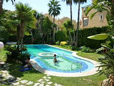 Duplex Apartment with private garden colse to  Marbella town, beach and Puerto Banus