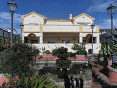 The house is located in a gated complex of 25 independent villas surrounded by fountains and gardens and also has a communal pool