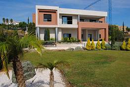 NEW MODERN VILLA WITH OPEN SEA VIEWS situated in the urbanization where are two 18-hole golf courses