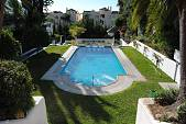 Unique corner townhouse situated in a residential area of Marbella