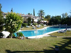 Cosy apartment in a closed community close to Marbella and Puerto Banus